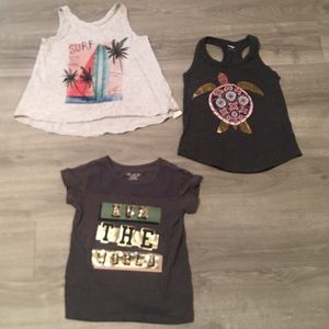 Toddler Girl's Top Bundle